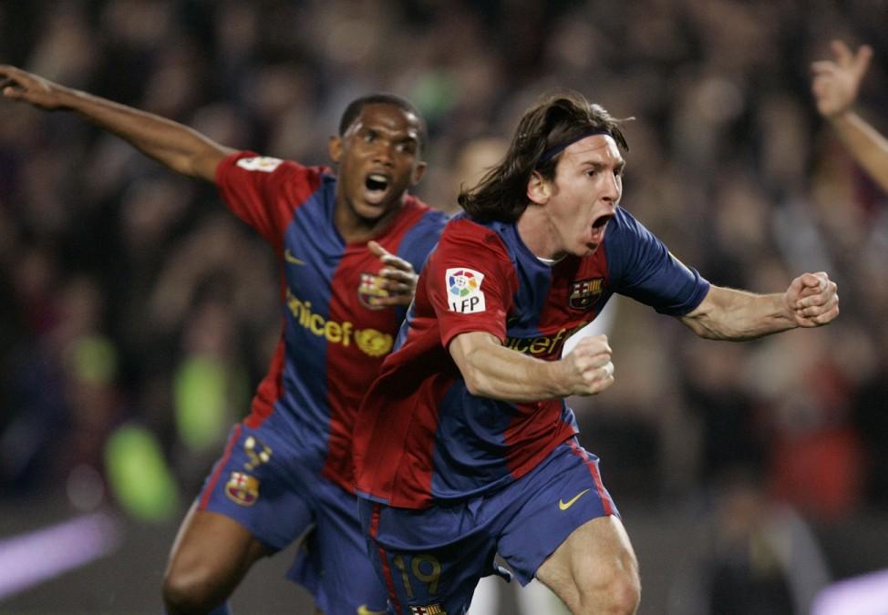 Lionel Messi, Samuel Eto'o