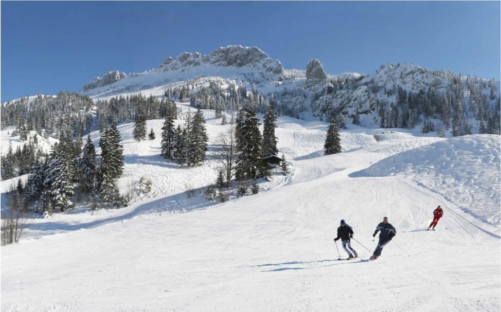Tagestour Skifahren Wintersport Kampenwand