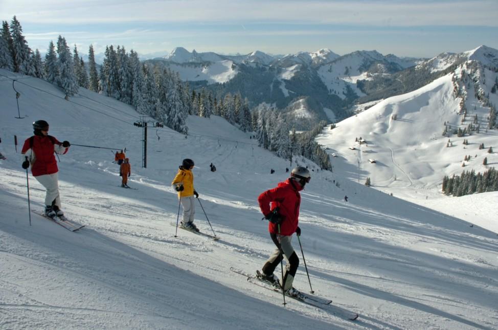 Tagestour Skifahren Wintersport Spitzing