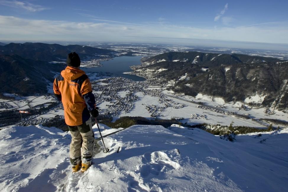 Tagestour Skifahren Wintersport Wallberg