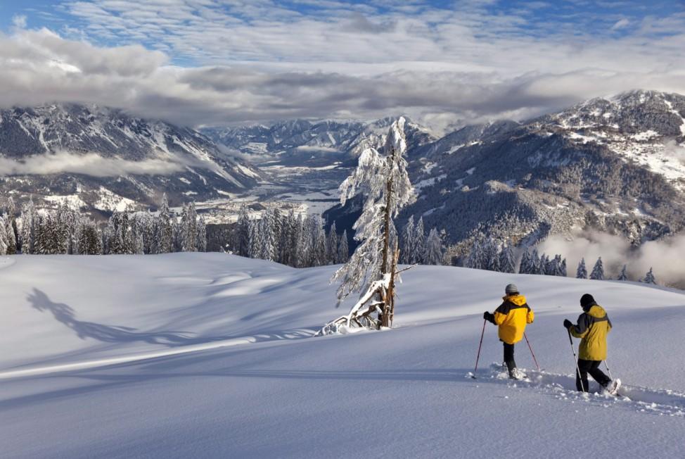 Winter weather in Switzerland