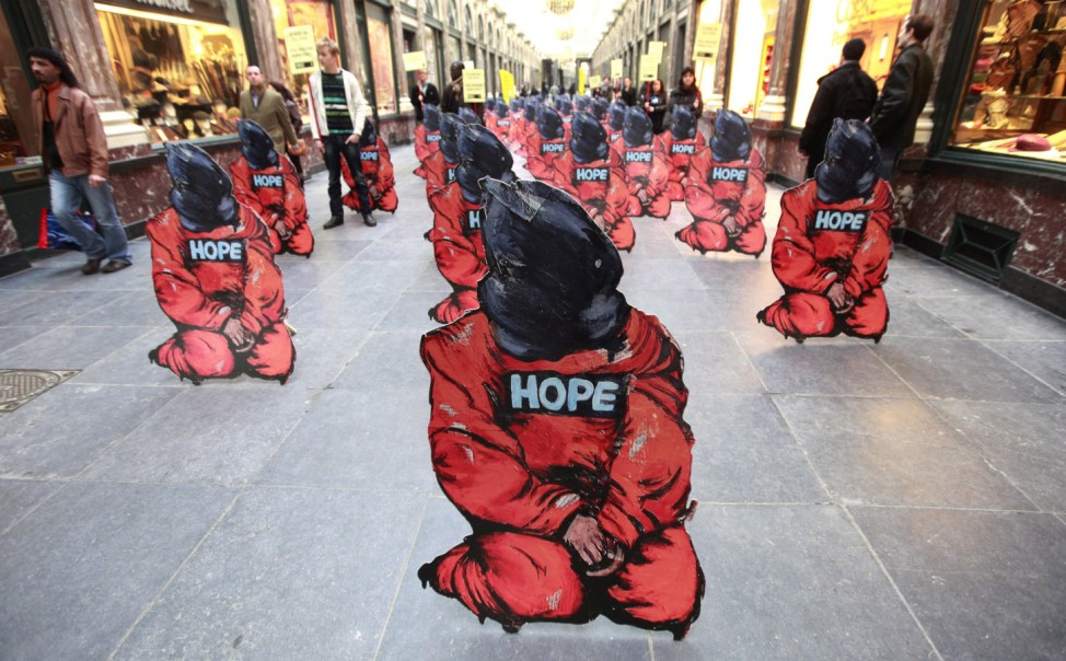 Guantanamo decade anniversary marked by rights groups
