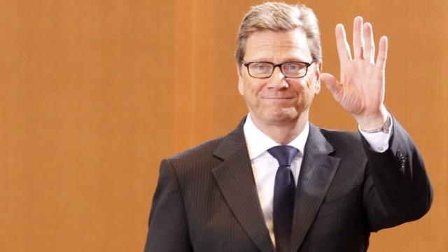 Will auch innenpolitisch wieder mitmischen: Außenminister Guido Westerwelle (FDP)