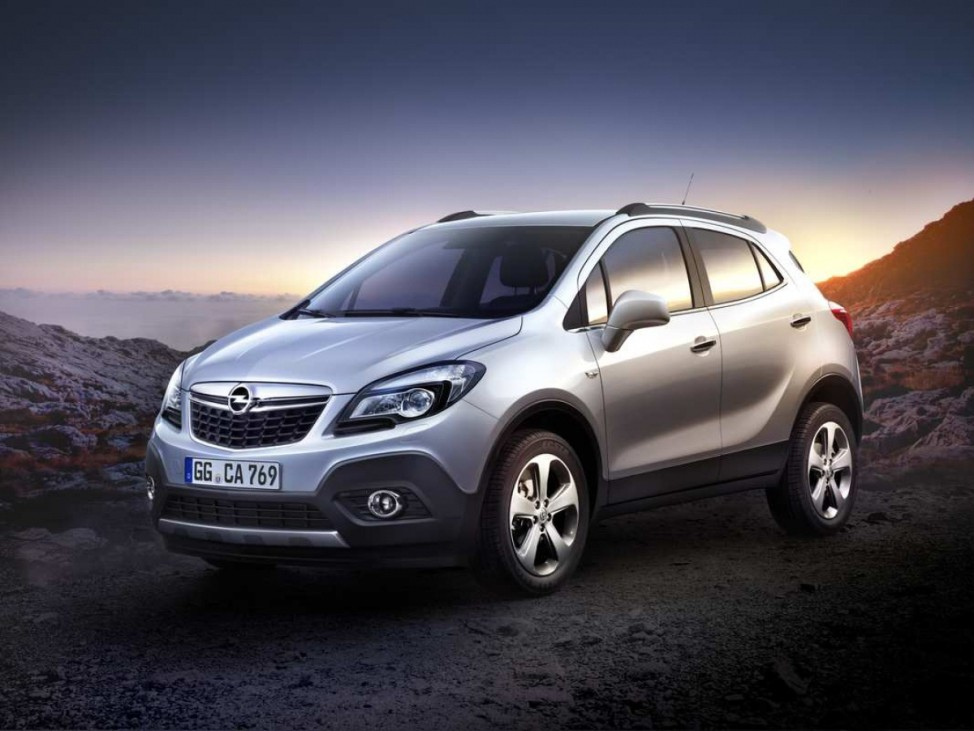 Aber bitte mit Sahne Opel Mokka