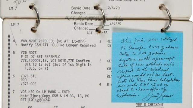 Lovell Apollo 13 Checklist