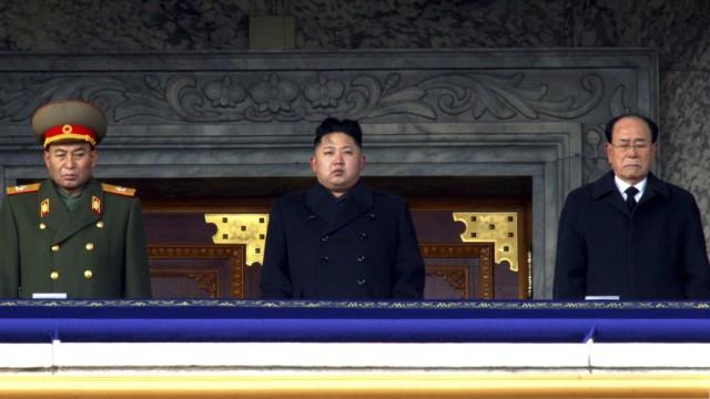 Kim Jong Un, Kim Yong Nam, Ri Yong Ho