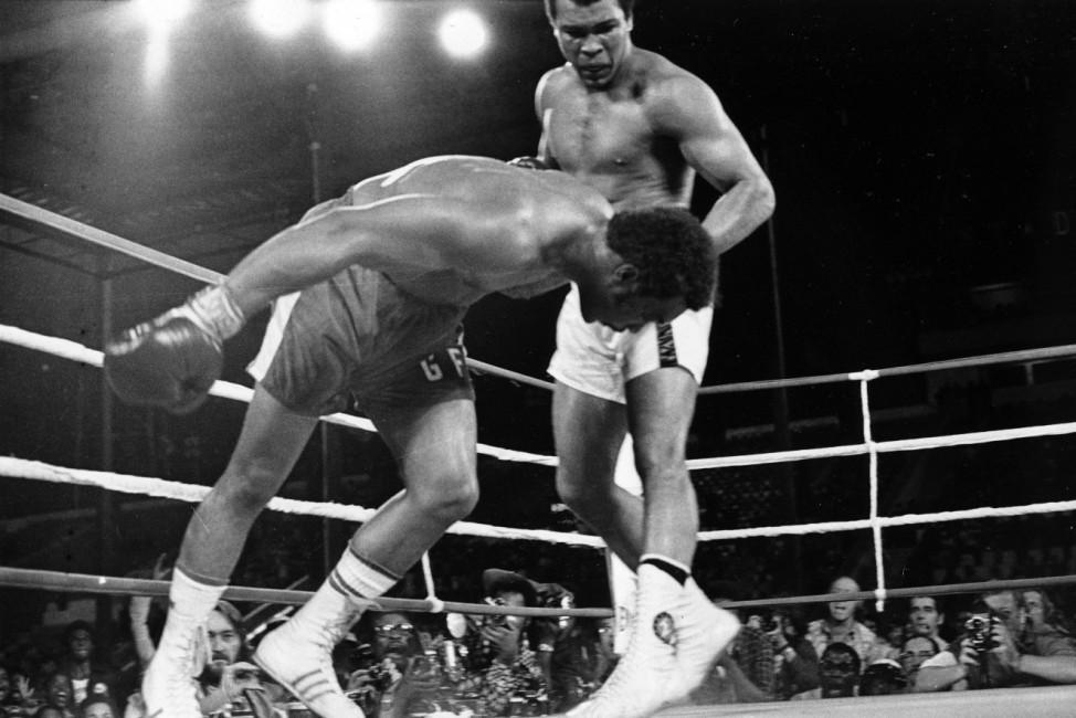 Muhammad Ali, George Foreman