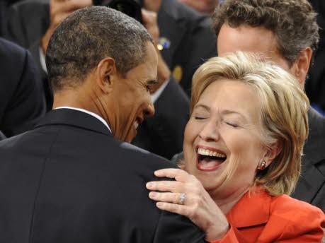Barack Obama Hillary Clinton, AP