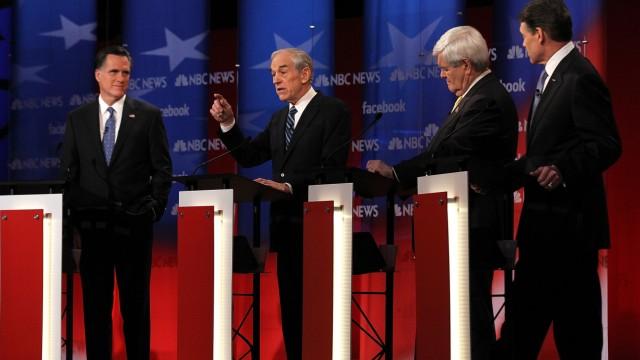 Republican Candidates Participate In Final Debate Before NH Primary
