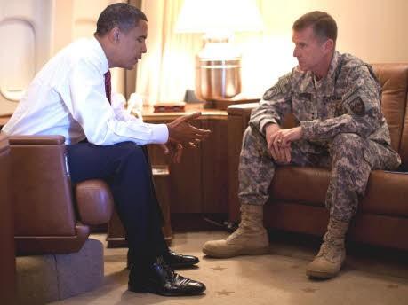 Obama McChrystal, AP