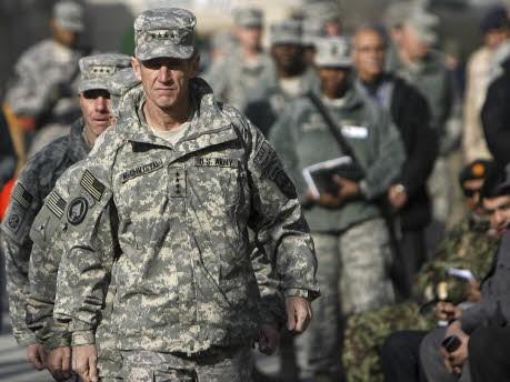 McChrystal, Reuters