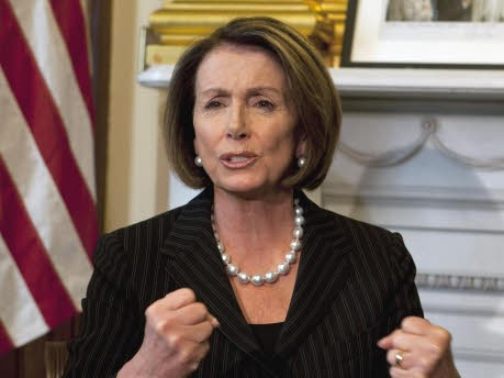 Nancy Pelosi, AP