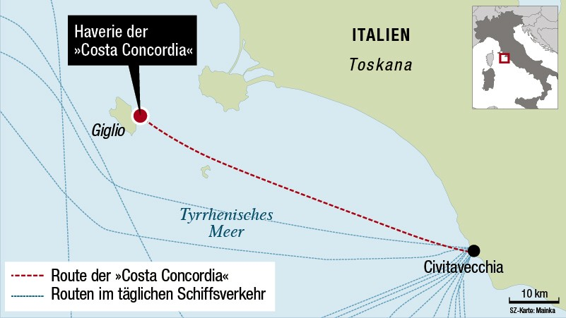 costa concordia kreuzfahrtschiff havarie schiffsunglückcosta