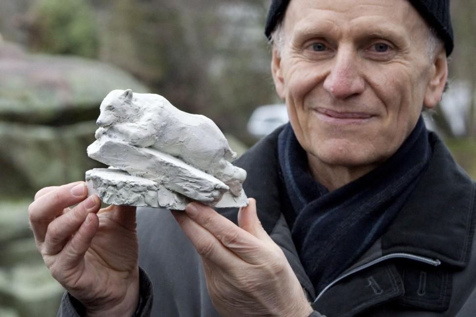 Vorstellung Skulpturentwurf für Knut-Denkmal