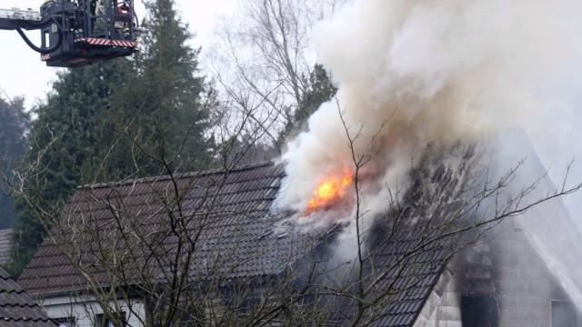 Drei kleine Kinder sterben bei Brand