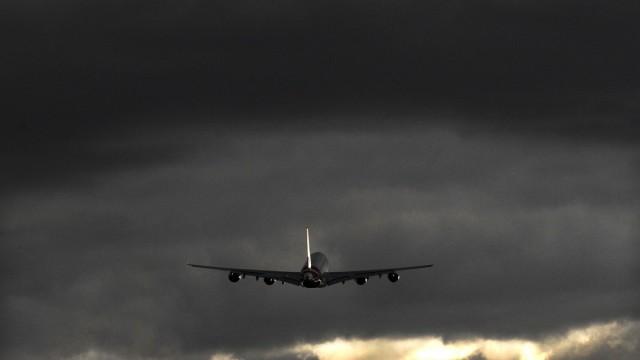 Volcanic ash flight cancellation