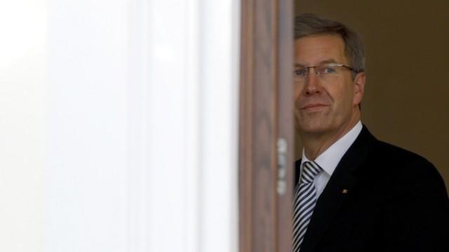 Unbeliebtes Staatsoberhaupt: Bundespräsident Christian Wulff im Januar 2012