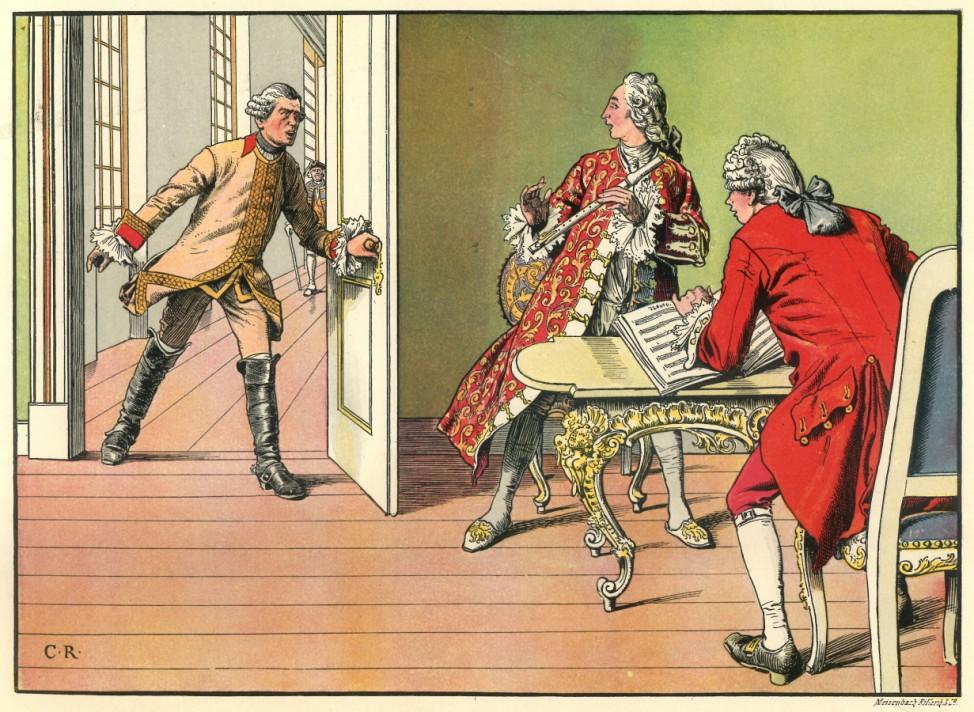 Friedrich II. König von Preussen Der alte Fritz Repro: Oliver Das Gupta