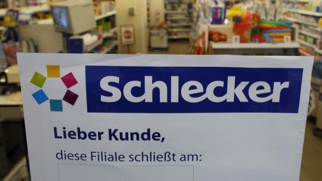 A chemist's shop of Schlecker is pictured in Dortmund