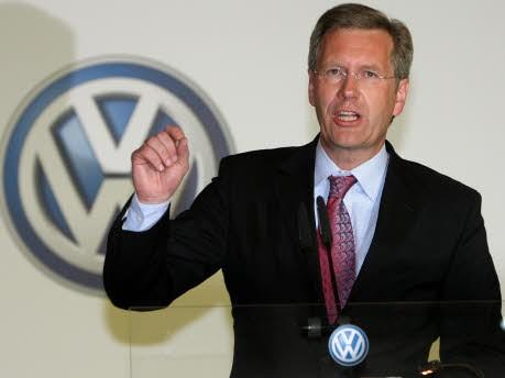 Christian Wulff, dpa