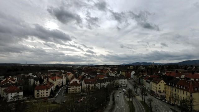 Wolken ueber Kassel