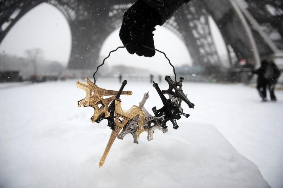 Souvenirs des Eiffelturm von Paris