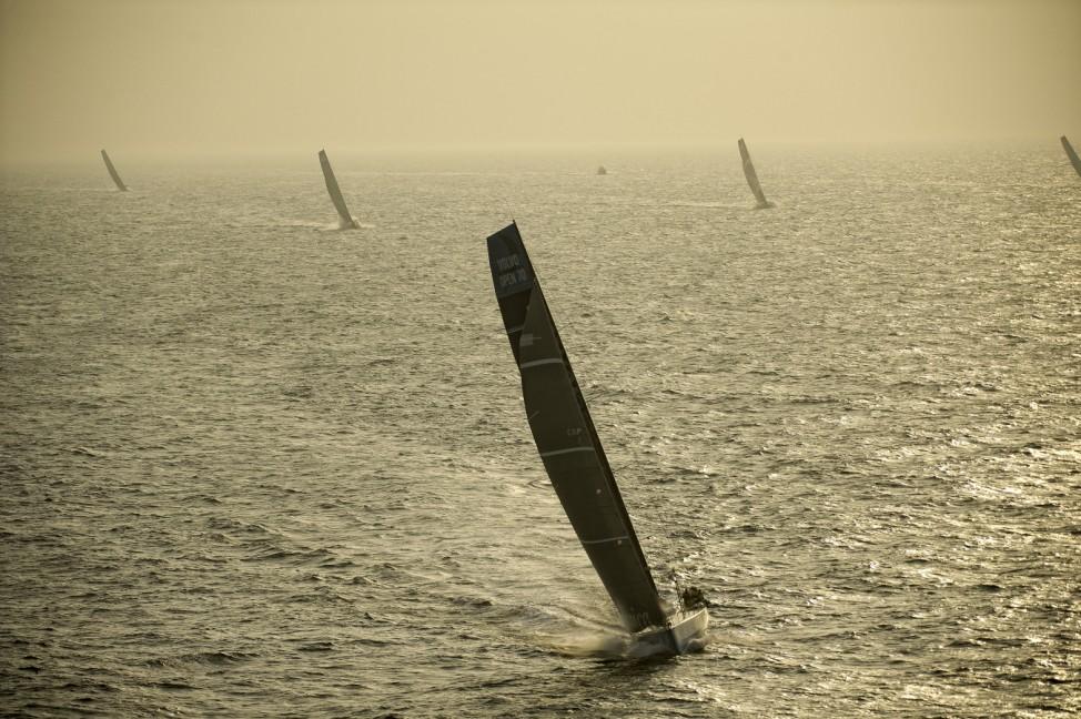 Leg 3 Start - Volvo Ocean Race 2011-12