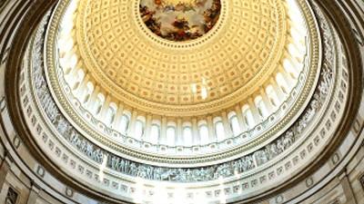 """Einladung vom US-Kongress: Die Rotunde im Kapitol: """"Herzkammer der amerikanischen Demokratie"""""""