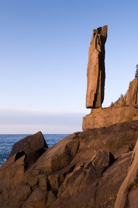 Geologie Felsen Erosion Verwitterung Nova Scotia Kanada