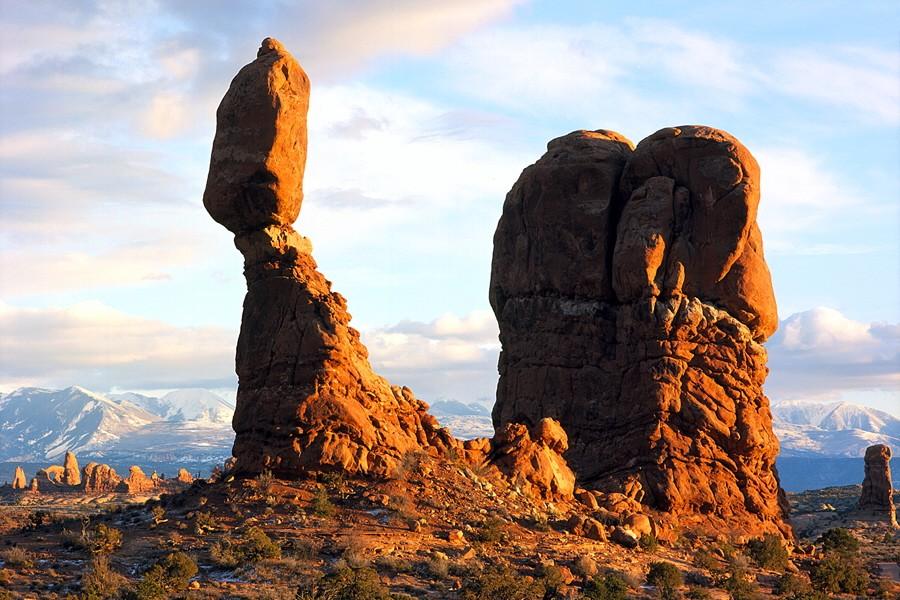Geologie Felsen Erosion Verwitterung Arches Nationalpark