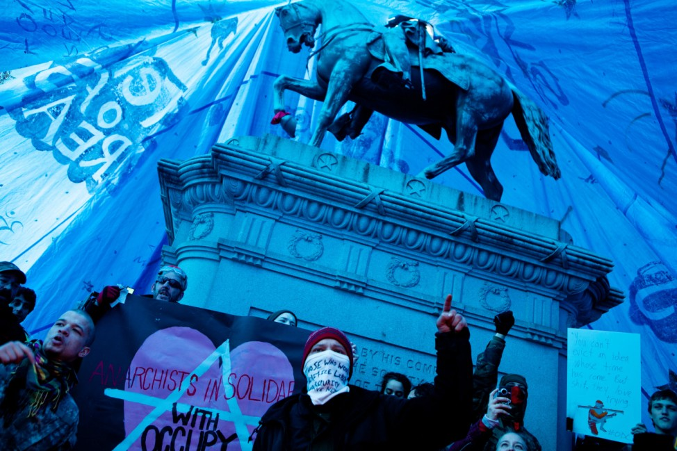 Occupy DC Encampments Threatened With Eviction