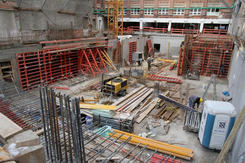 """Bauprojekt """"Hofstatt´"""" im Münchner Hackenviertel, 2012"""