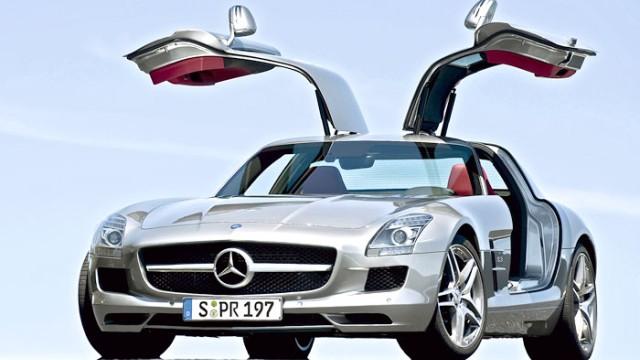Mercedes SLS AMG: Mercedes SLS AMG: Das künftige Sportwagengesicht der Marke?