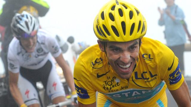 Radprofi Alberto Contador