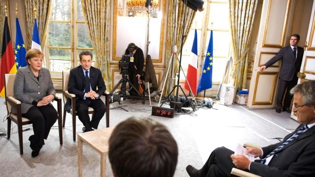 German Chancellor Merkel Visits France