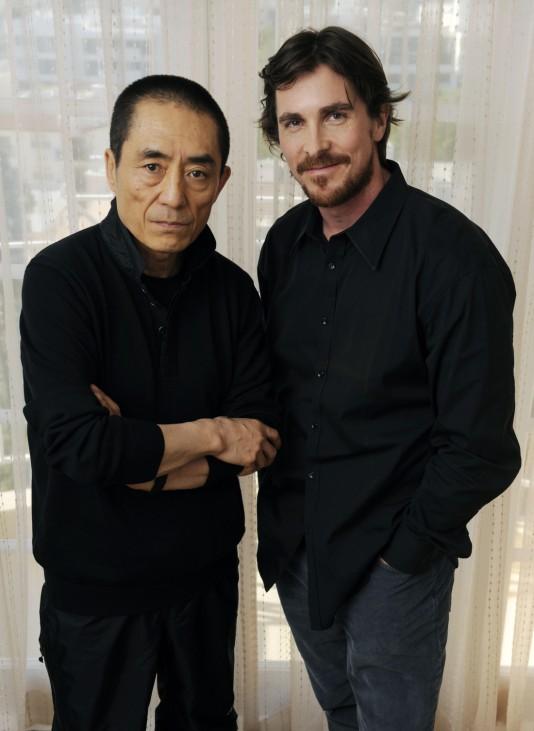 Zhang Yimou, Christian Bale
