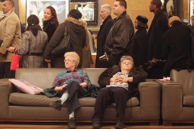 Employment Seekers Attend Job Fair In Manhattan