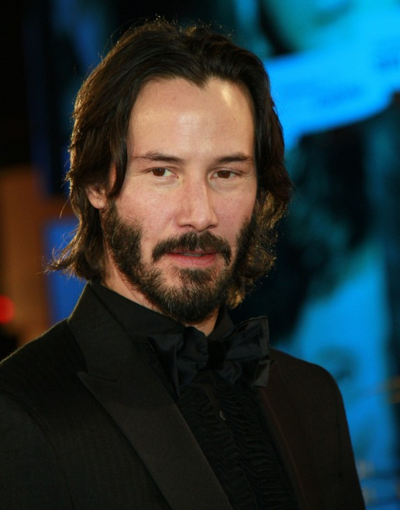 Canadian actor Keanu Reeves attends the opening ceremony of the 10th International Marrakesh Film Festiva