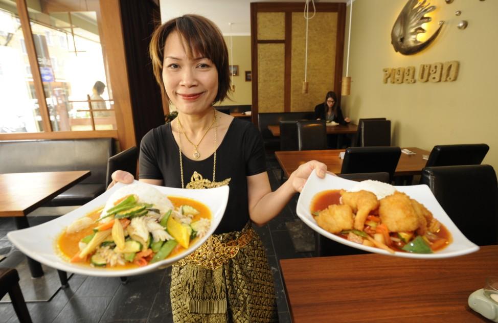 Thailändisches Restaurant in München, 2010
