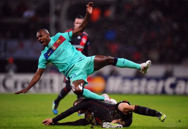 Bayer 04 Leverkusen v FC Barcelona - UEFA Champions League Round of 16