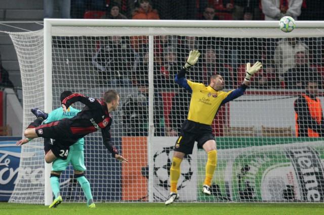 Champions League - Bayer Leverkusen - FC Barcelona