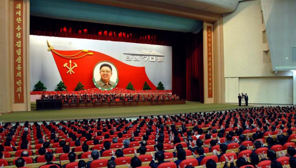 North Korea prepares to celebrate the late Kim Jong Il's 70th bir