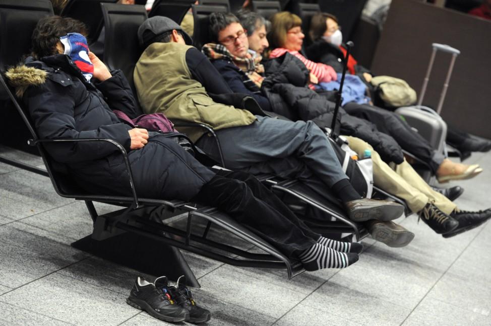 Gewerkschaft bestreikt Frankfurter Flughafen