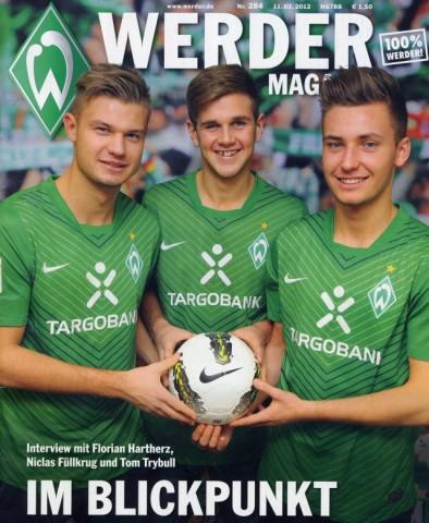 Werder Magazin Februar 2012