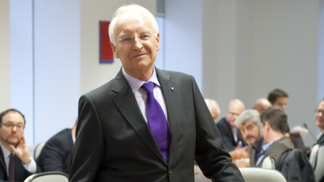 Stoiber Zeuge im BayernLB-Untersuchungsausschuss