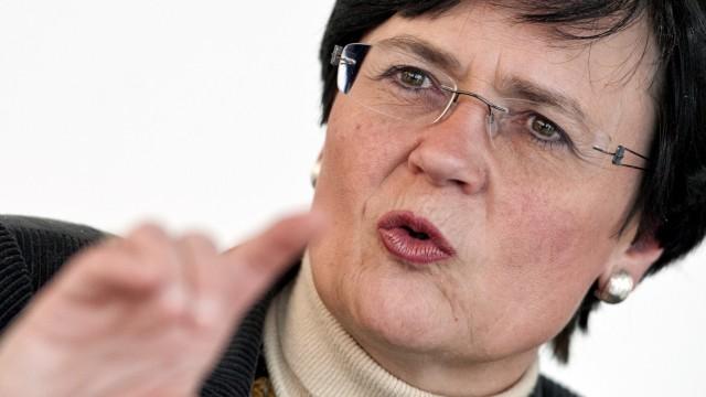 Thüringens Ministerpraesidentin Christine Lieberknecht (CDU) Rechtsextremismus NPD NSU