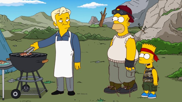 Simpsons Assange