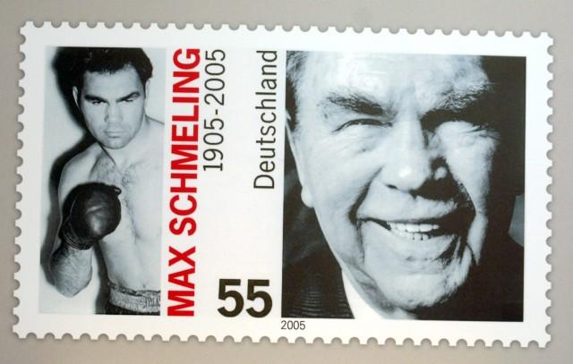 Max Schmeling auf Briefmarke, 2005