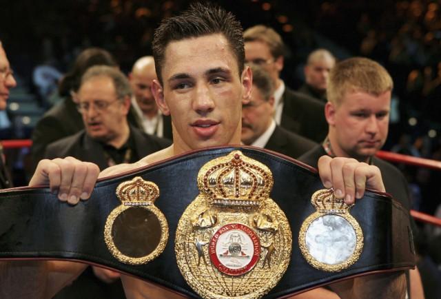 WBA Middleweight World Championship - Sturm v Masoe