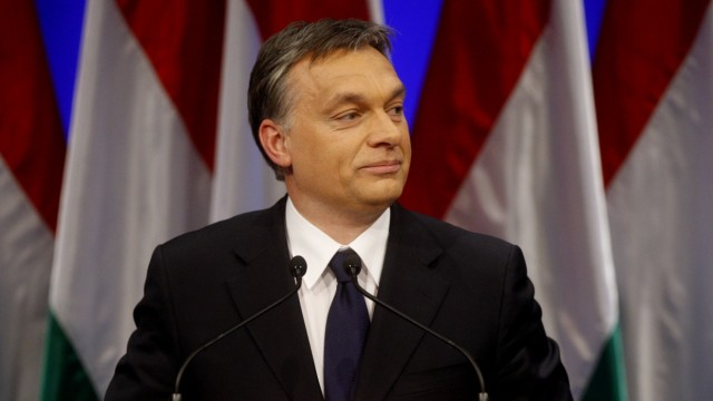 Hungarian Prime Minister Orban presents his annual state-of-the-nation speech in Budapest